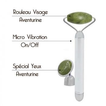 Masseur Visage Micro Vibration Aventurine