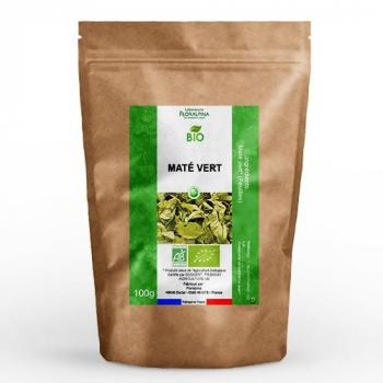 Maté vert bio (feuilles coupées) 100g