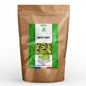 Maté vert bio (feuilles coupées) 500g
