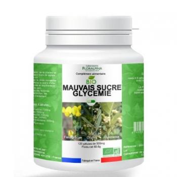 Mauvais sucre glycémie bio 120 gélules