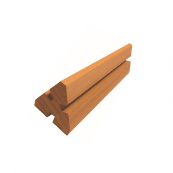 Maxi engrenage triangle - Truc en bois