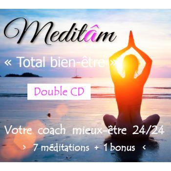 """""""Total bien-être""""  > Double CD - 7 méditations guidées"""