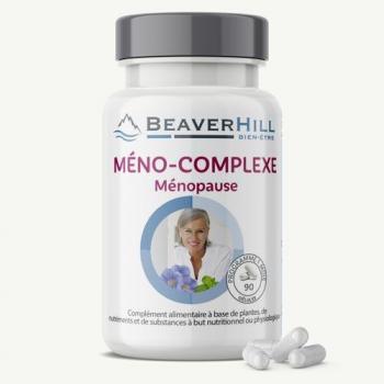 Méno-Complexe – PROMO ! 2 achetés - 1 offert – Ménopause, Cycle féminin, Bouffées de chaleur, sueurs nocturnes