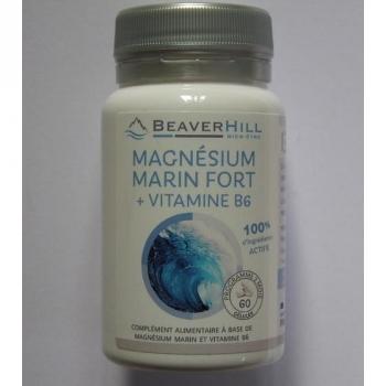 Magnésium Marin Fort - 60 gélules végétales