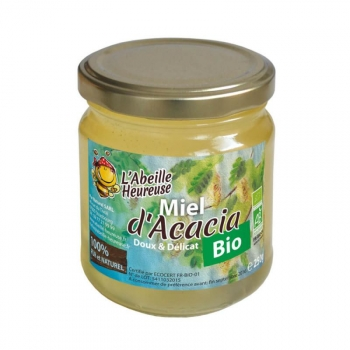 Miel d'acacia BIO 3x250g