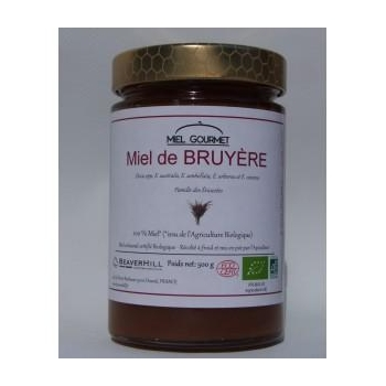 Miel de BRUYÈRE BIO - 500 g