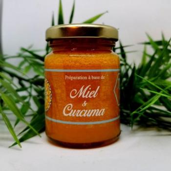 Miel de France et Curcuma