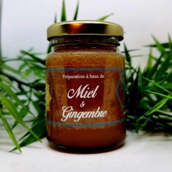 Miel de France et Gingembre