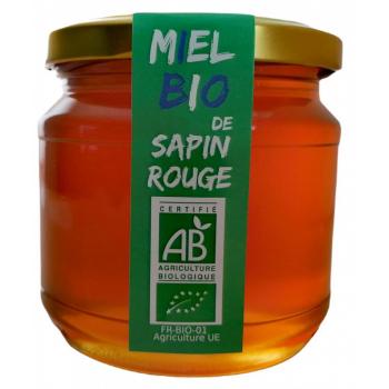 Miel Bio de Sapin Rouge Le Monopati 0,5kg/pièce