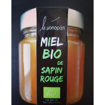 Miel Bio de Sapin Rouge Le Monopati - 250g