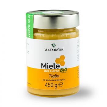 Miel de tilleul biologique crémeux 450 g