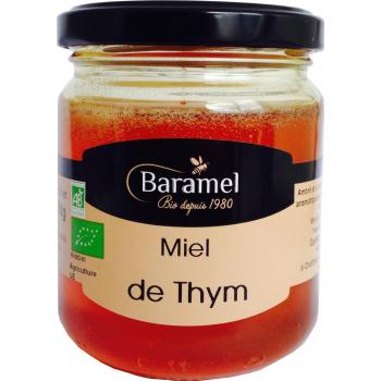Miel de thym biologique 250gr - Baramel