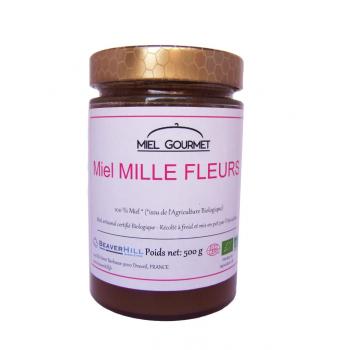 Miel MILLE FLEURS Bio - 500g
