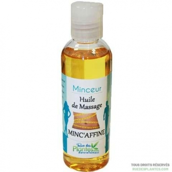Huile de massage Minc'Affine 100ml