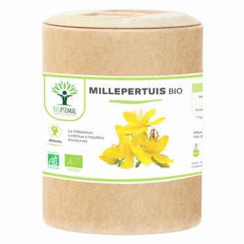 Millepertuis bio - Complément Alimentaire - Cure 1 mois - BIOPTIMAL - 200 gélules
