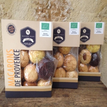MAISON ROUX - Macarons de Provence «Assortiments  & Saveurs»
