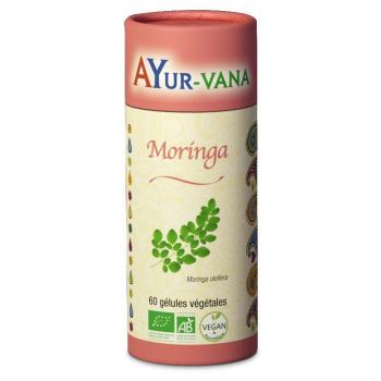 Moringa 60 gélules Ayur-Vana BIO