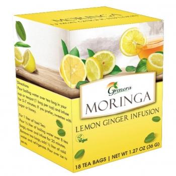 Infusion de Moringa et Citron Gingembre