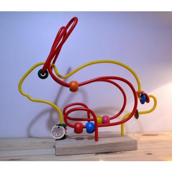 Circuit de motricité lapin fabrication francaise