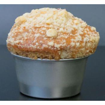 Moule à muffins individuel en fer blanc