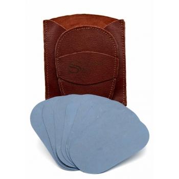 Gant d'exfoliation et d'épilation Kit Terre de Sienne Brûlée Uni