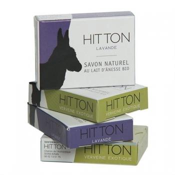 Mini-savon au lait d'ânesse bio - lavande HITTON