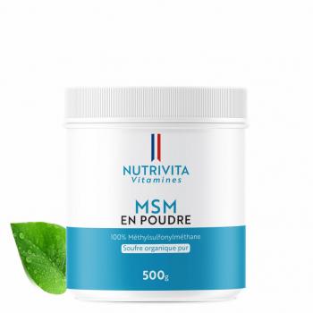 MSM pur en poudre - 500g