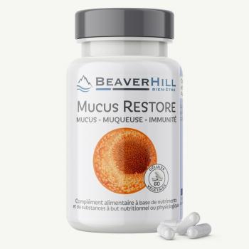MUCUS RESTORE – FUT2 – Mucus, Muqueuse intestinale, Immunité – Nouveau produit !