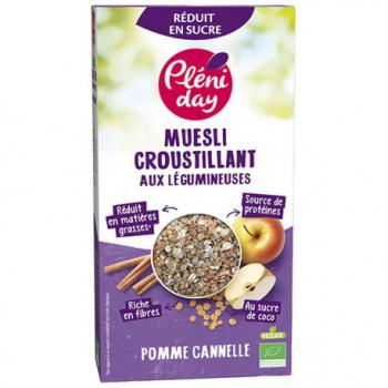 muesli-croustillant-legumineuses-pomme-cannelle-pleniday
