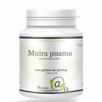 Muira Puama 100 gélules de 300mg