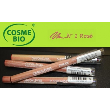 Crayon Bio Contour des Lèvres N° 1 Rosé