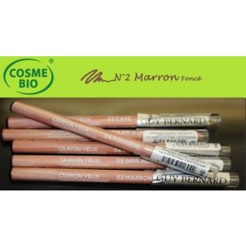 Crayon Bio Contour des yeux N° 2 Marron Foncé