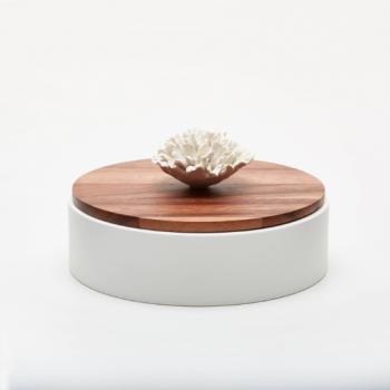 Boite en bois et céramique NAMI
