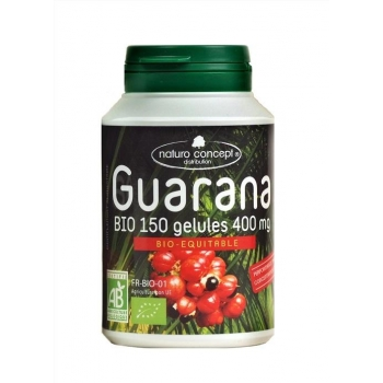 Guarana blanc bio - 150 gélules