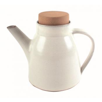 """Théière """"patan"""" blanche"""