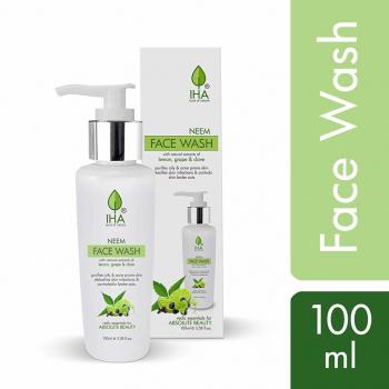 Savon visage ayurvédique Neem Face Wash - Cruelty free - 100 ml