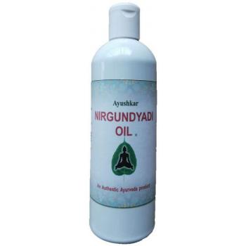 Huile de massage ayurvédique Nirgundyadi - 200 ml