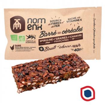 Nomenk_barre_cereales_chocolat_noir_bio_spiruline_chanvre