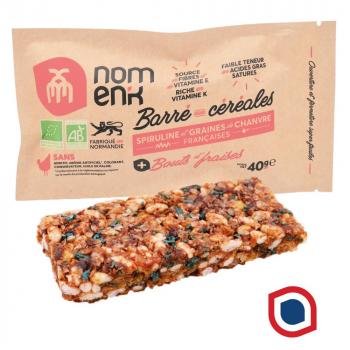 Nomenk_barre_cereales_fraise_bio_spiruline_chanvre