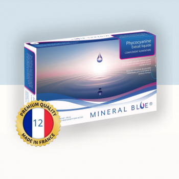 Phycocyanine - Extrait Liquide de Spiruline - 12 g/l - 500 ml
