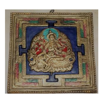 Mandala Tara verte