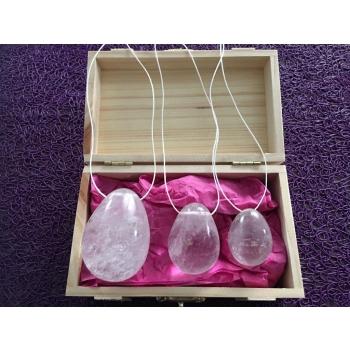 Oeufs Yony cristal de roche