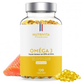 Oméga 3 Epax® – 120 capsules
