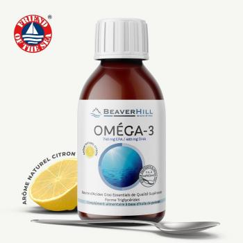 Oméga-3 Huile de Petits Poissons Sauvages - Haute Concentration - Flacon de 200 ml