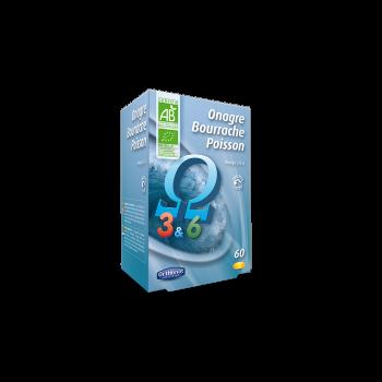 Onagre Bourrache Poisson - Orthonat - 60 capsules