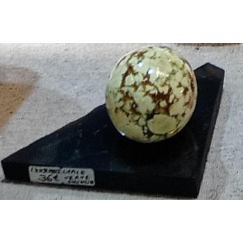 Socle support de sphère ou d'oeuf 120/130g