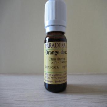 Huile essentielle BIO orange douce 10ml