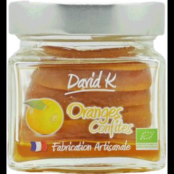 Oranges confites - 100g