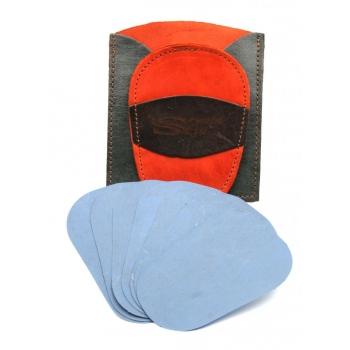 Gant d'exfoliation et d'épilation Kit Bicolore Orange/Gris