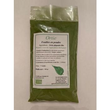 Feuilles d'ortie en poudre 100 g
